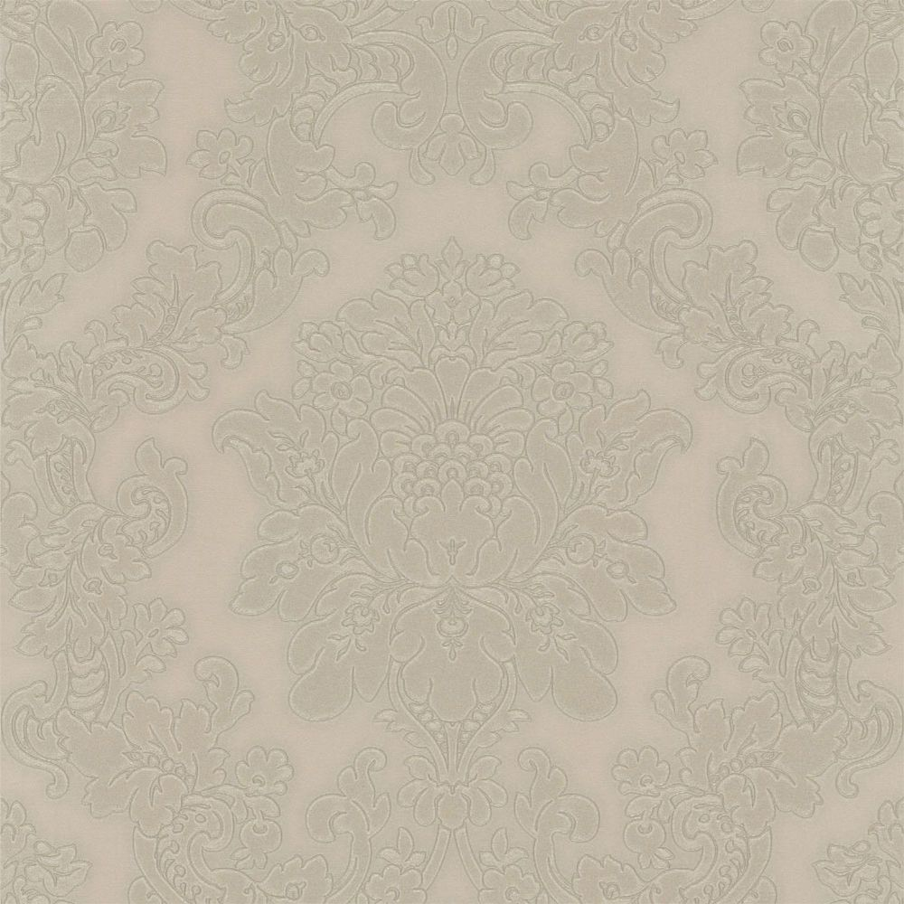 Arthouse Vincenza Damask Taupe 270402 Wallpaper